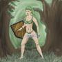 A kokiri-forest warrior