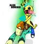 NG RUMBLE 2 - Alien Hominid by MAKOMEGA