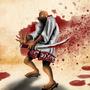 Crazy Samurai by JudePerera