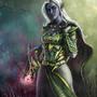 Akordia - Dark Elf Combat Mage
