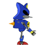Metal Sonic, Sonic 4 eps2 by Asherbirdman