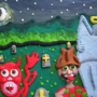 Satan by hellcartoon