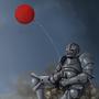 Balloon Knight by FriendlyViolence