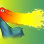 fiery hair