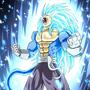 Prince Vegeta SSJ5 blue by Rennis5