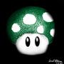 1 Up Mushroom by jaredthegraphicnoob