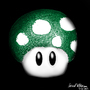 1 Up Mushroom by jaredthegraphicnoob