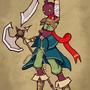 Radish Boy The Warrior by Vadent