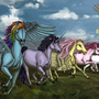 My Little Pony by Louise-Goalby