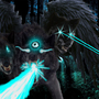 3 Headed Laser Wolf of Doom