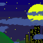 Pixels in the Night Sky by JimJamJimmay