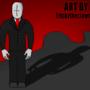 My 1st art by TrickyTheClown76