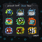 'Antenna-Cheese Icon Pack'