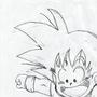Gohan/Goku Drawing by ZonDrakk