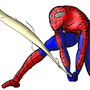 Spidey from Drawing with Jazza by Vilaru