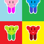 Kirby Pop-art by jamstrax