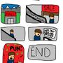 Bad Puns #1 by GeorgeDudmanCartoons