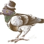 Dapper Pigeon by daigonite