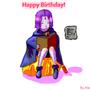 Happy Birthday Raven by Alef321