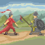 2 guys in medieval times by Grigoreen