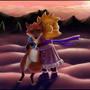 Lisa and Fox (fanart) by FoxShift