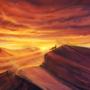 Through the Desert by Maquenda