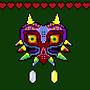 Pixel Majora's Mask by ParanoidWarPig