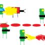 raybots vs humans battle