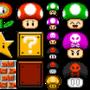 Super Mario Item Set 1
