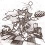 Shadow the Hedgehog by Fatty-D