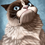 Grumpy Cat by CharReed