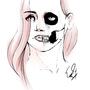 Skull girl by Vailer