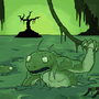 Swamp Creatures by Zarnagel