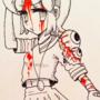 Sherry bloody schoolgirl by VooDooDollMaster