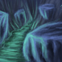 Cave Speed Paint by skullduggerystudios