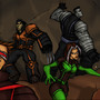 AMAZING X-MEN:Cave ADVENTUR by Sabrerine911