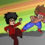 Jake VS Hal by Joespray