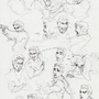 Doodle Bunch 5 by EyrichArn