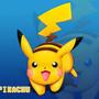 Pikachu 3D render by jerveypugeh