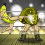 Kickboxing Banana by Rennis5