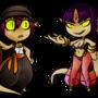 Suma and Esha by Ktullanyx