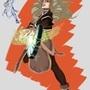 Sorcerer Girl - Healer by RimKeLLo