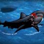 Cyberwoman VS Killer Shark by aftandil