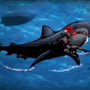 Cyberwoman VS Killer Shark