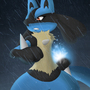 Lucario by RatedEmForMature