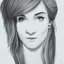 Katie Digital Realism Portrait by TheLoyalMeat