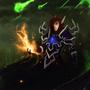 Blood Elf Warlock by TheSilentDane
