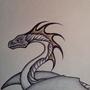 Black Pen Dragon