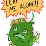 LEAF ME ALONE by kashidoodles
