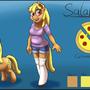 Salame reference sheet by draneas